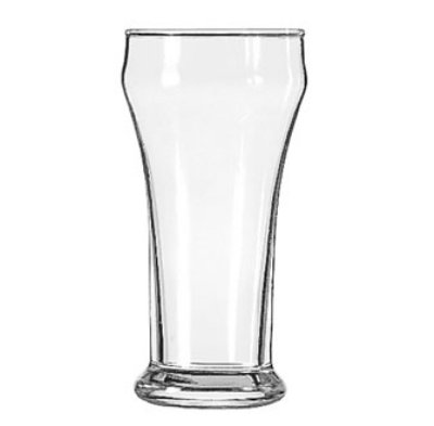 Libbey 13 10-oz Heavy Base Bulge Top Pilsner Glass - Safedge Rim Guarantee