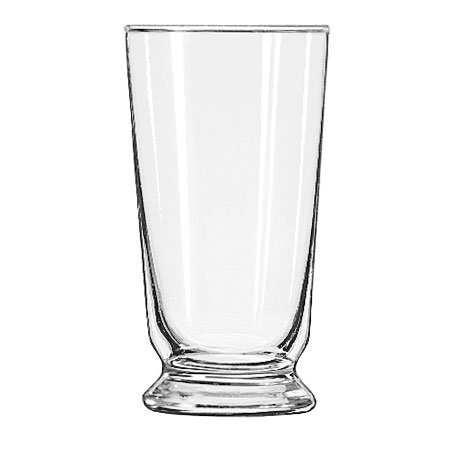 Libbey 1451HT 10-oz Footed Malted Glass - Safedge Rim Guarantee