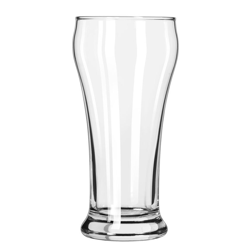 Libbey 14 12-oz Heavy Base Pilsner Glass - Safedge Rim Guarantee