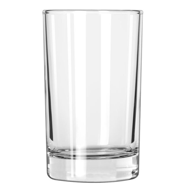 Libbey 151 Heavy Base Split Glass w/ Safedge Rim Guarantee, 6-oz