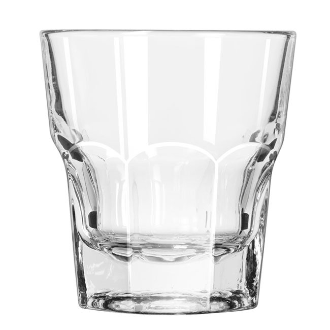 Libbey 15231 9-oz DuraTuff Gibraltar Tall Rocks Glass