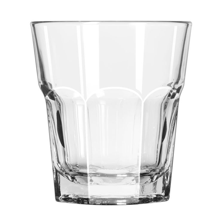 Libbey 15233 13-oz DuraTuff Gibraltar Double Rocks Glass