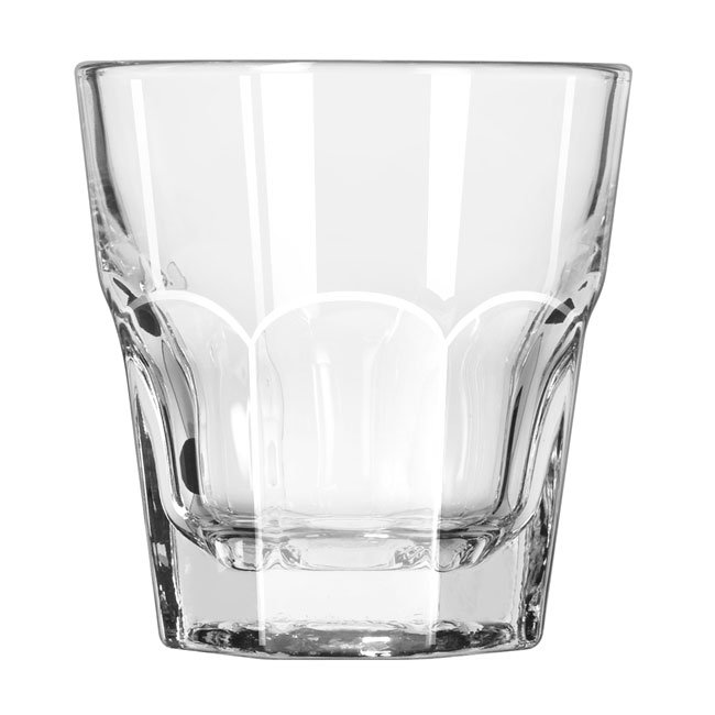 Libbey 15240 8-oz DuraTuff Gibraltar Rocks Glass