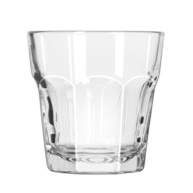Libbey 15241 7-oz DuraTuff Gibraltar Rocks Glass