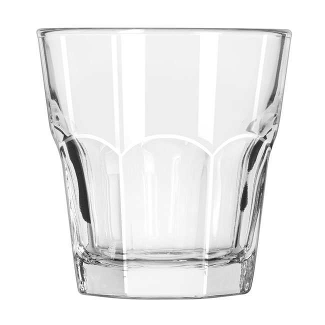 Libbey 15242 9-oz DuraTuff Gibraltar Rocks Glass