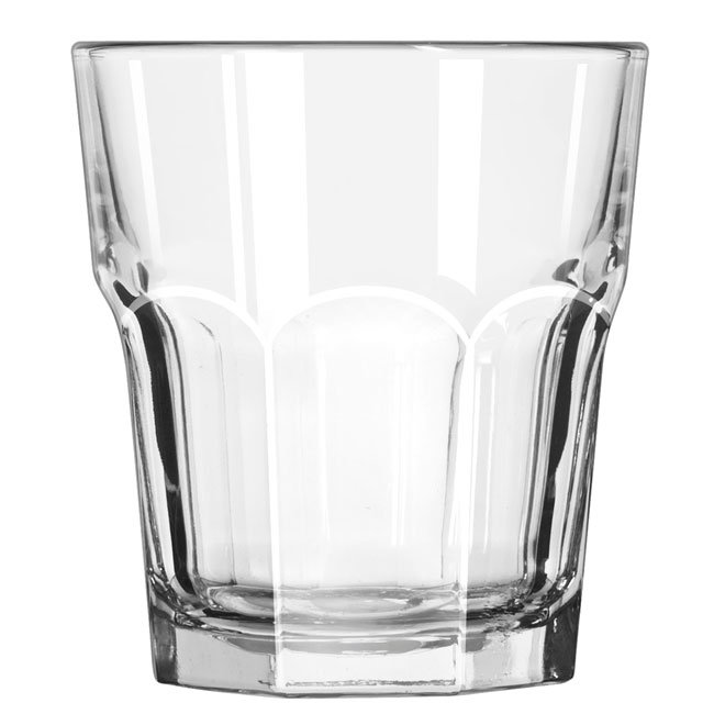 Libbey 15243 12-oz DuraTuff Gibraltar Double Rocks Glass
