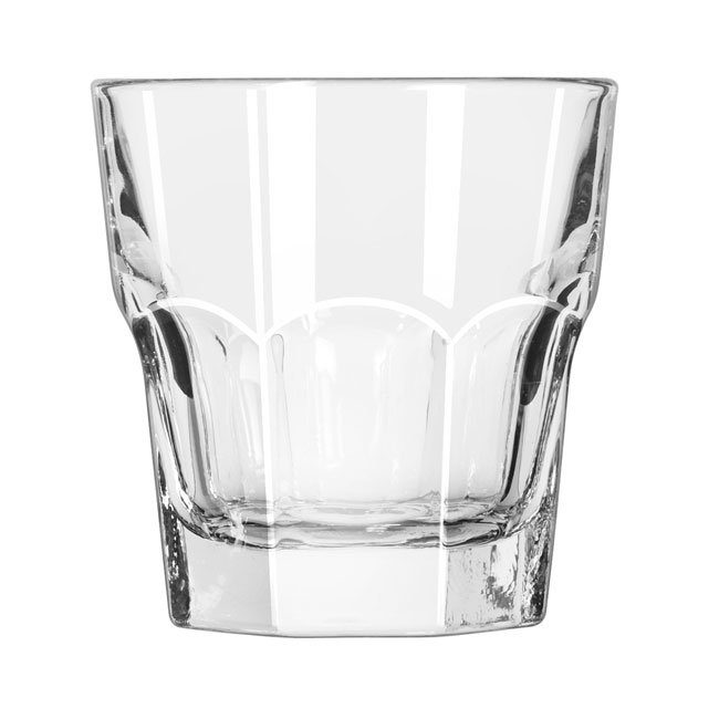 Libbey 15245 7-oz DuraTuff Gibraltar Tall Rocks Glass