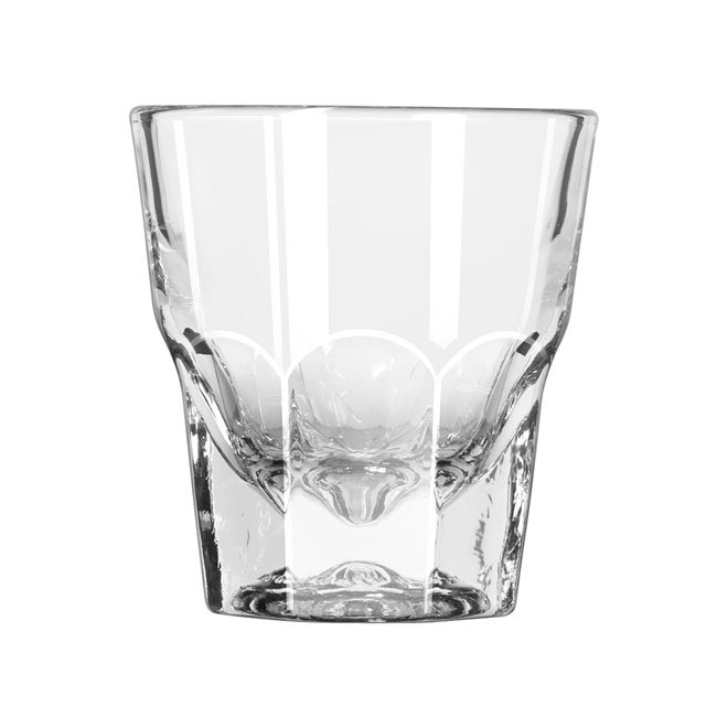 Libbey 15248 4.5-oz DuraTuff Gibraltar Rocks Glass