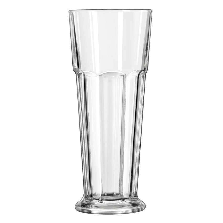 Libbey 15429 14-oz DuraTuff Gibraltar Footed Pilsner Glass