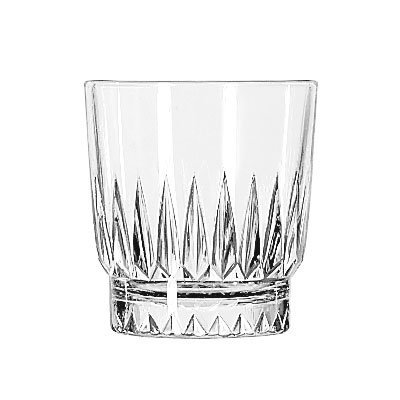 Libbey 15454 8-oz DuraTuff Winchester Rocks Glass