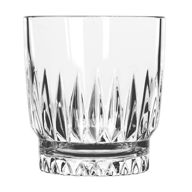 Libbey 15457 10-oz DuraTuff Winchester Rocks Glass