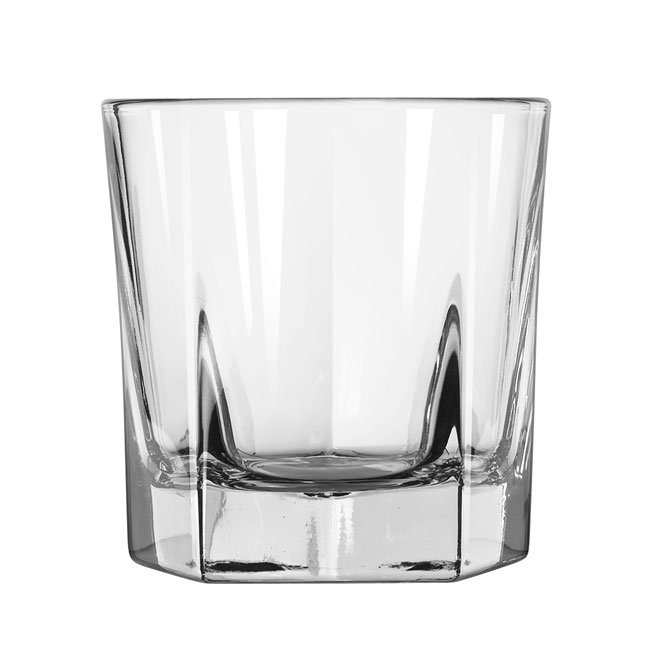 Libbey 15480 7-oz DuraTuff Inverness Rocks Glass