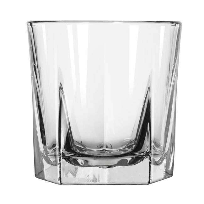 Libbey 15481 9-oz DuraTuff Inverness Rocks Glass