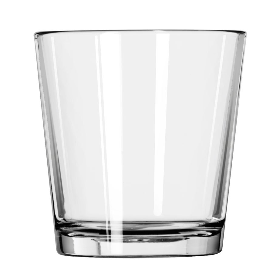 Libbey 15587 12-oz DuraTuff Restaurant Basics Double Old Fashioned Glass
