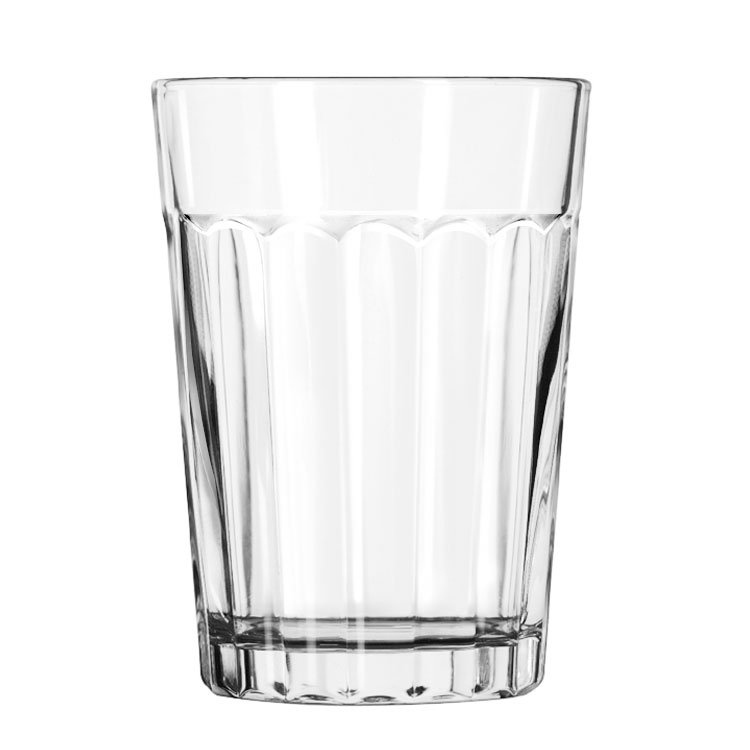 Libbey 15640 8.5-oz DuraTuff Paneled Glass Tumbler