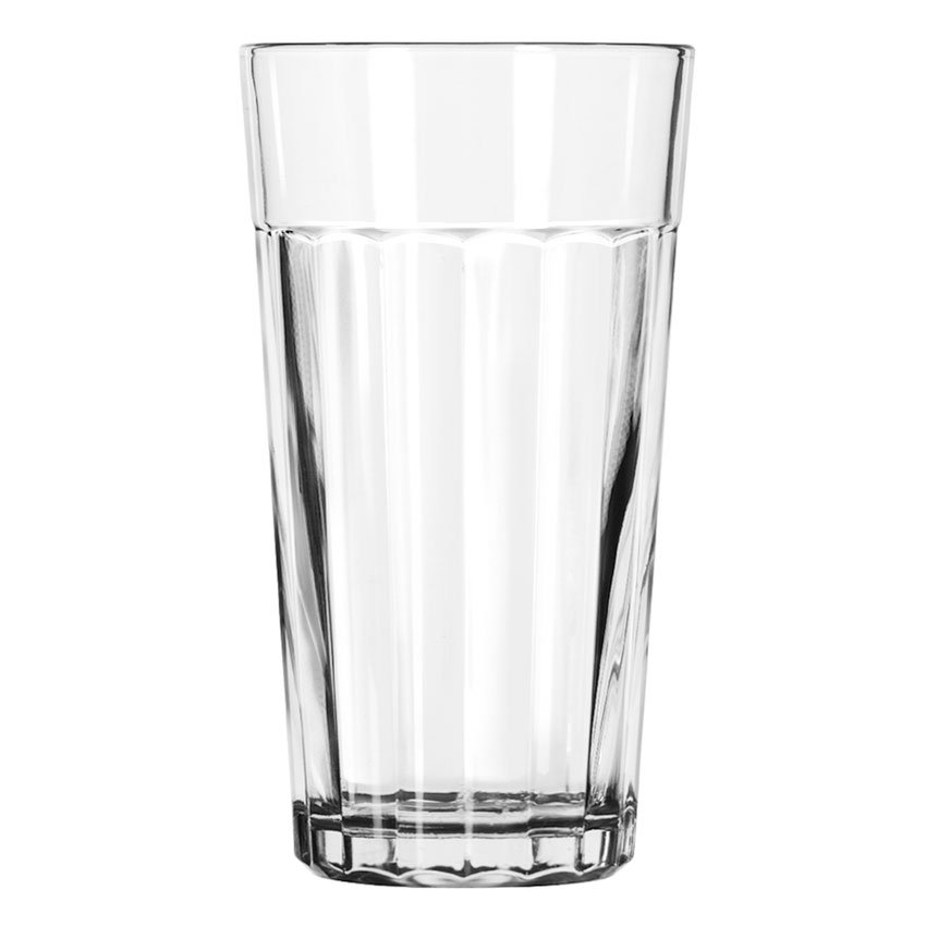 Libbey 15642 16-oz DuraTuff Paneled Glass Tumbler