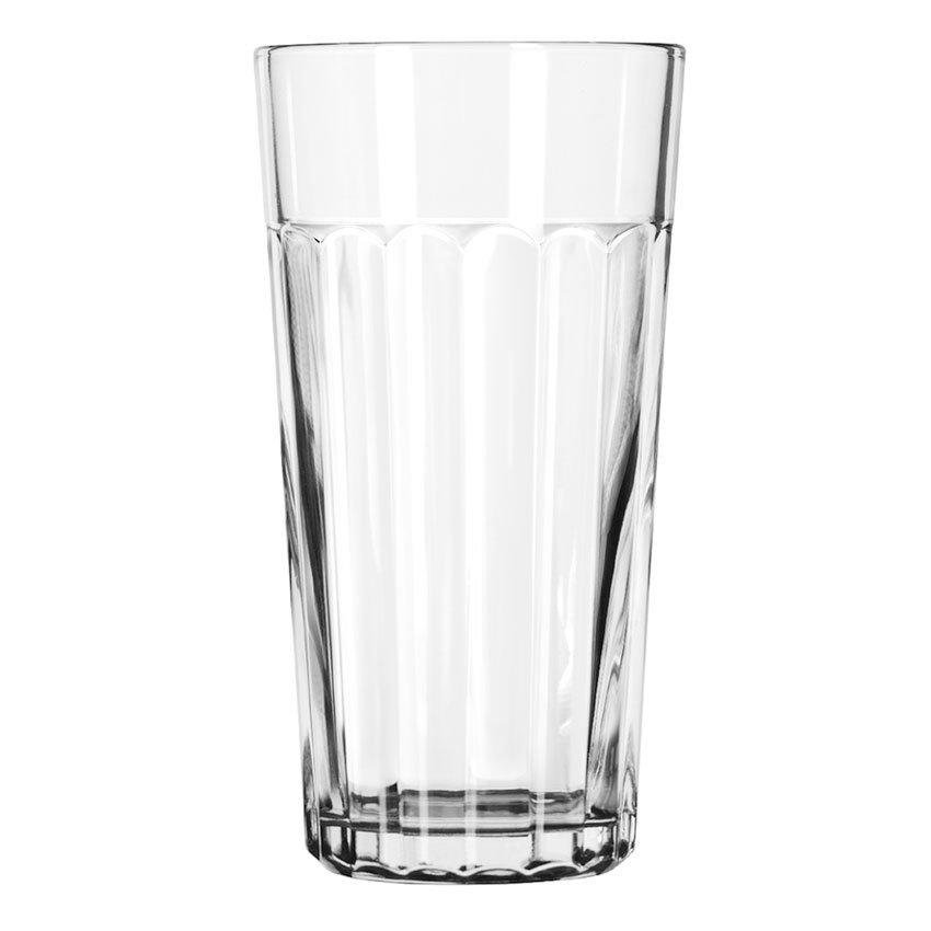 Libbey 15643 20-oz DuraTuff Paneled Glass Tumbler