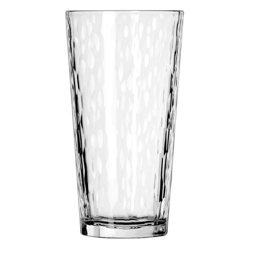 Libbey 15648 20-oz DuraTuff Hammered Design Casual Cooler Glass