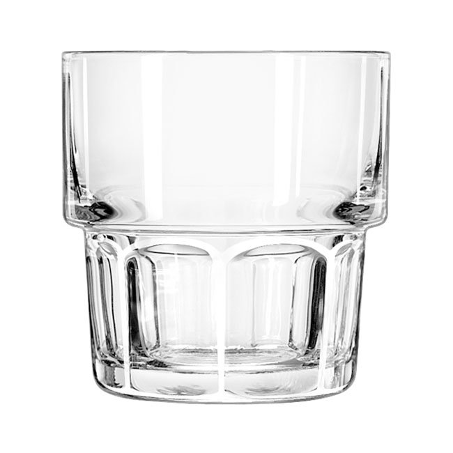 Libbey 15659 9-oz DuraTuff Gibraltar Stackable Rocks Glass
