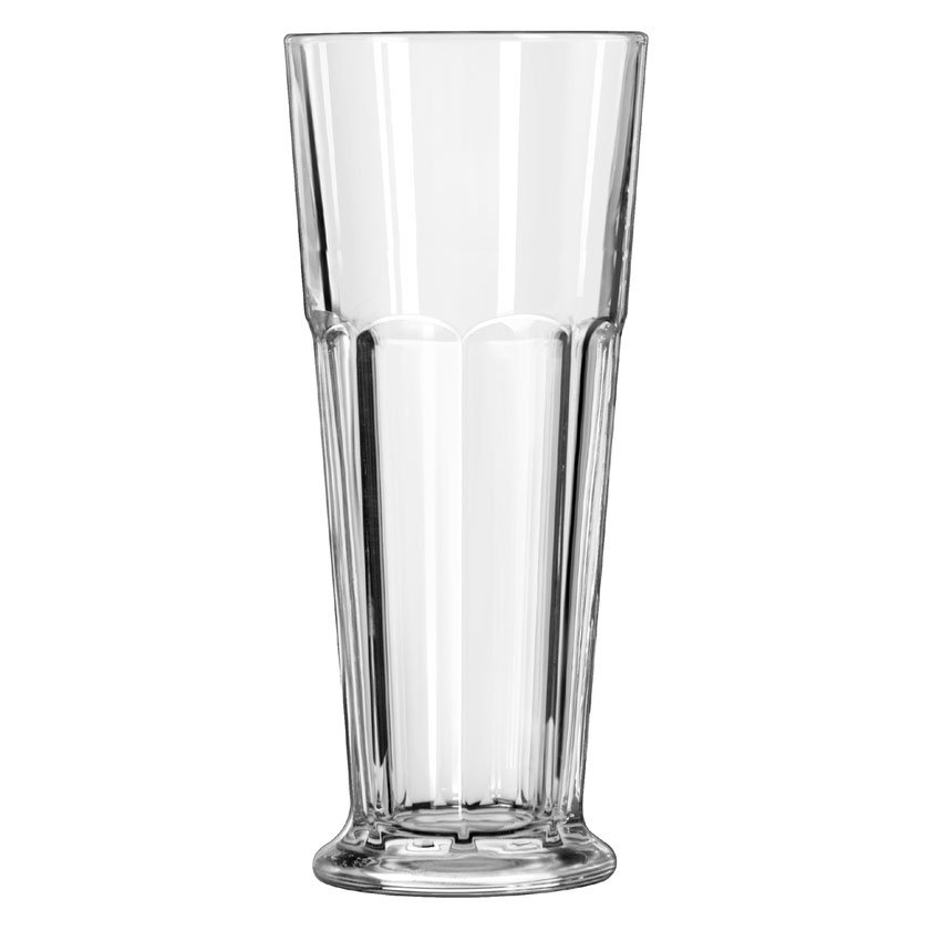 Libbey 15680 12-oz DuraTuff Gibraltar Footed Pilsner Glass