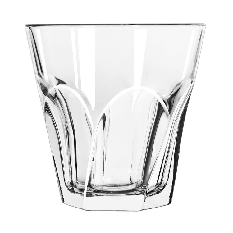 Libbey 15746 12-oz Gibraltar Twist Duratuff Rocks Glass