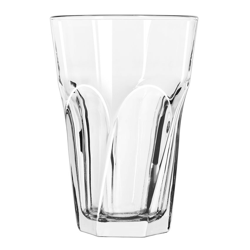 Libbey 15747 12-oz Gibraltar Twist Beverage Glass