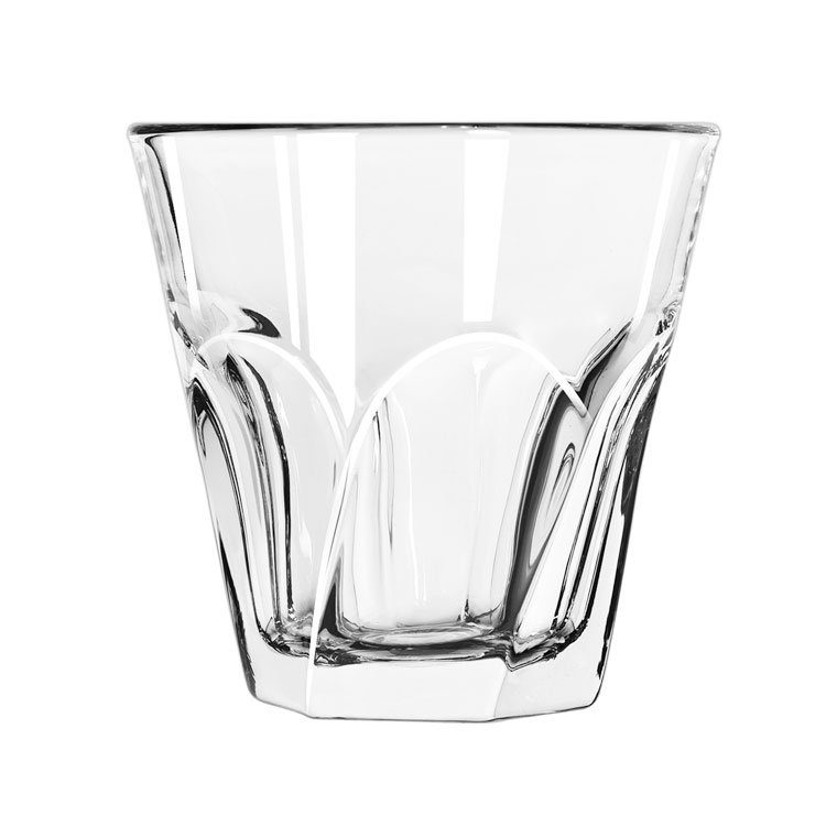 Libbey 15748 9-oz Gibraltar Twist Duratuff Rocks Glass