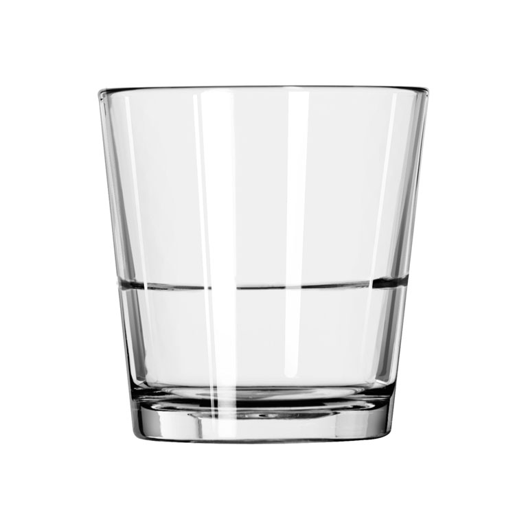 Libbey 15766 9-oz Rocks Glass - Restaurant Basics, Stackable
