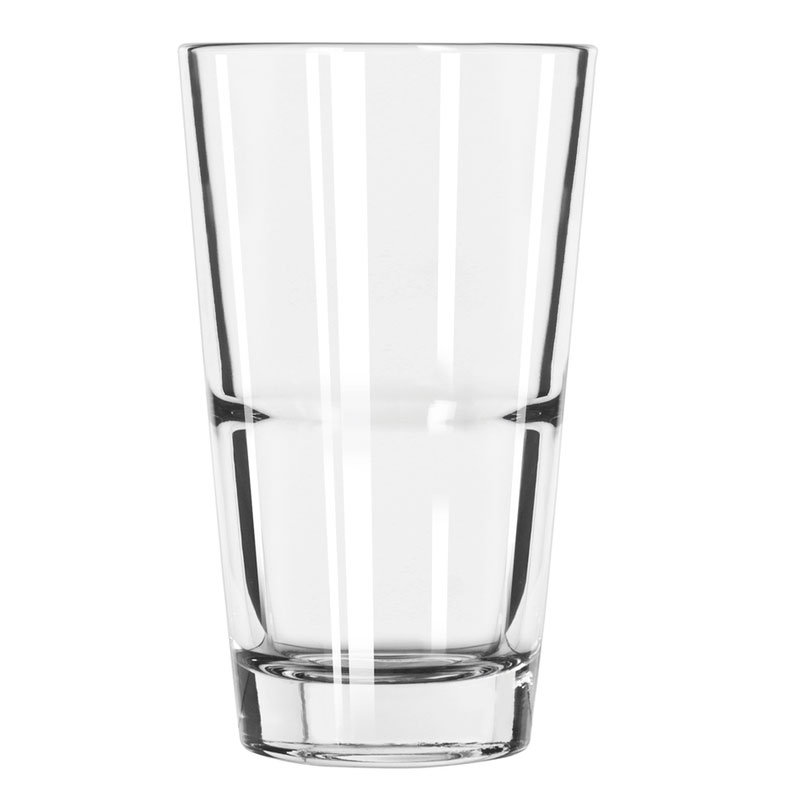 Libbey 15789 14-oz DuraTuff Restaurant Basics Mixing Glass - Clear