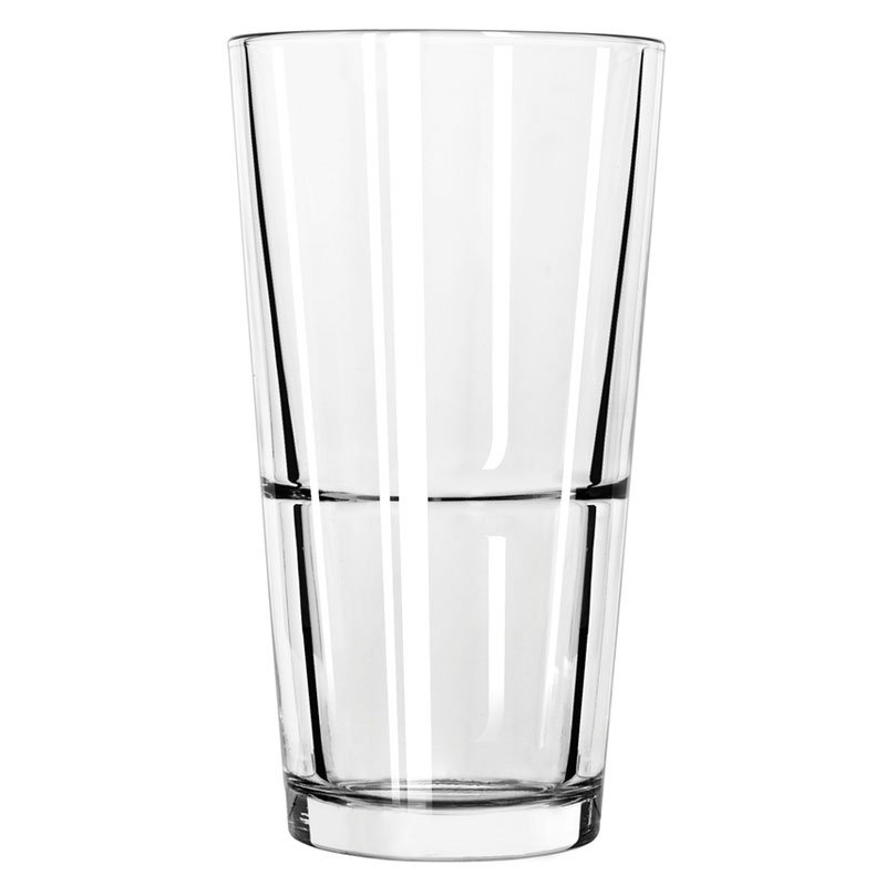 Libbey 15792 22-oz Stacking Mixing Glass w/ DuraTuff