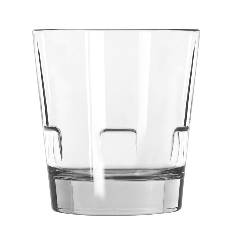 Libbey 15963 12-oz Double Old-Fashioned Glass - Optiva, Stackable