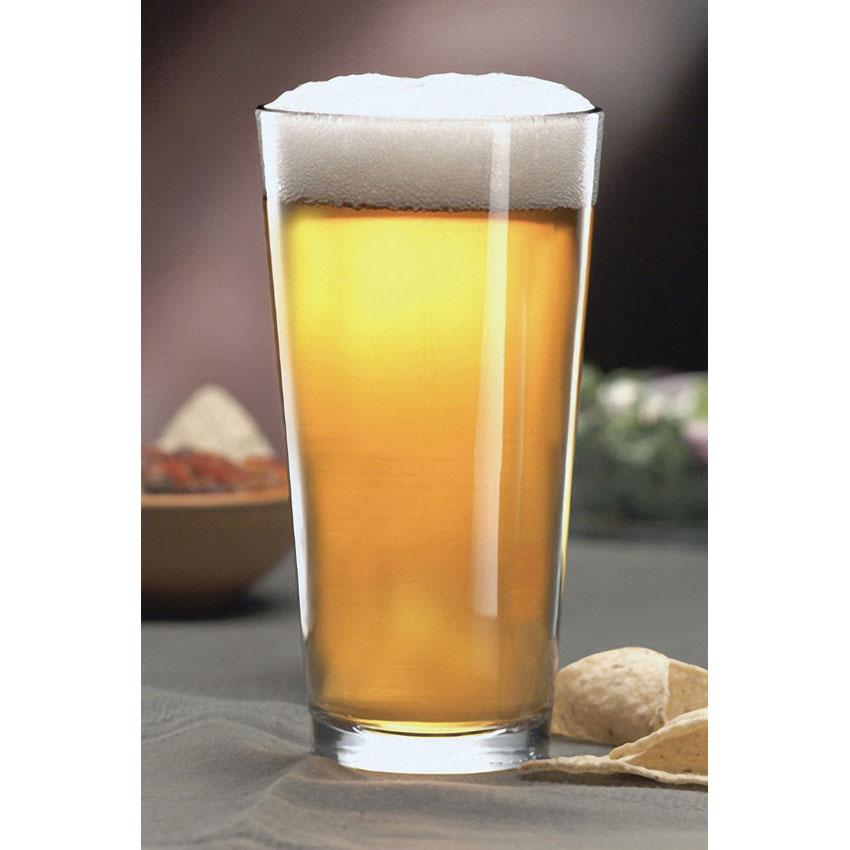 Libbey 1639HT 16-oz Pint Glass / Mixing Glass - DuraTuff Treated
