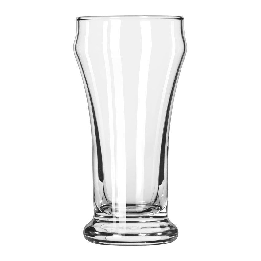 Libbey 16 6-oz Heavy Base Pilsner Glass - Safedge Rim Guarantee