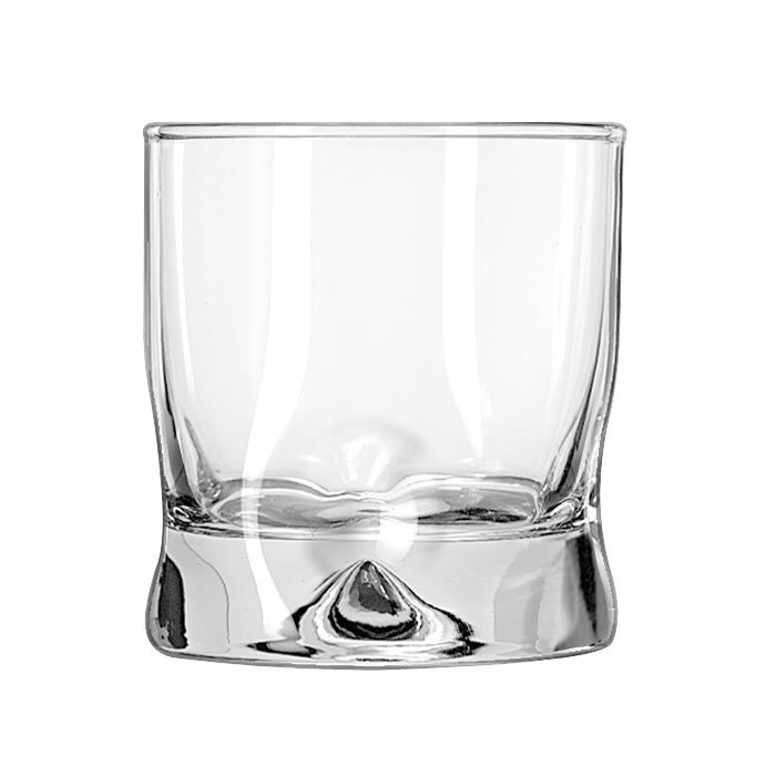 Libbey 1767580 8-oz Crisa Impressions Old Fashioned Glass