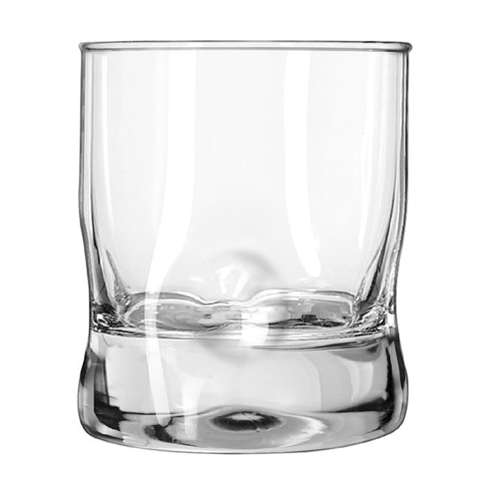Libbey 1767591 11.75-oz Crisa Impressions Double Old Fashioned Glass