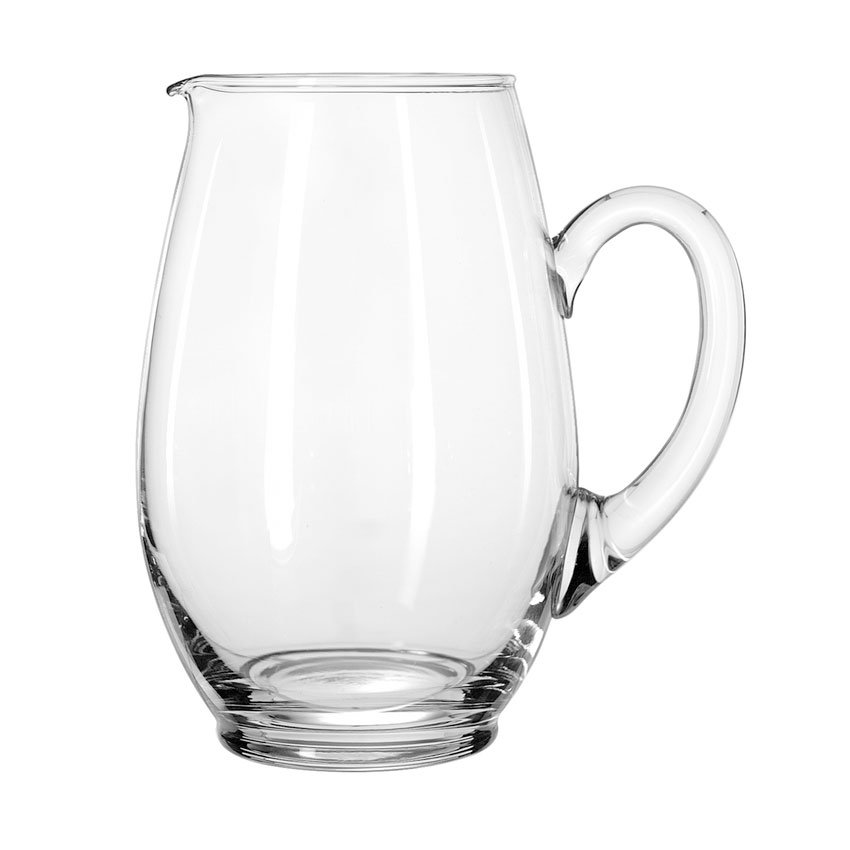 Libbey 1783127 64-oz Crisa Mario Glass Water Pitcher