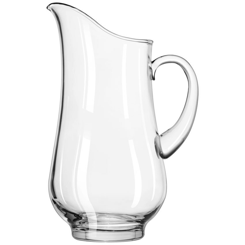 Libbey 1787724 76-oz Crisa Atlantis Footed Glass Pitcher