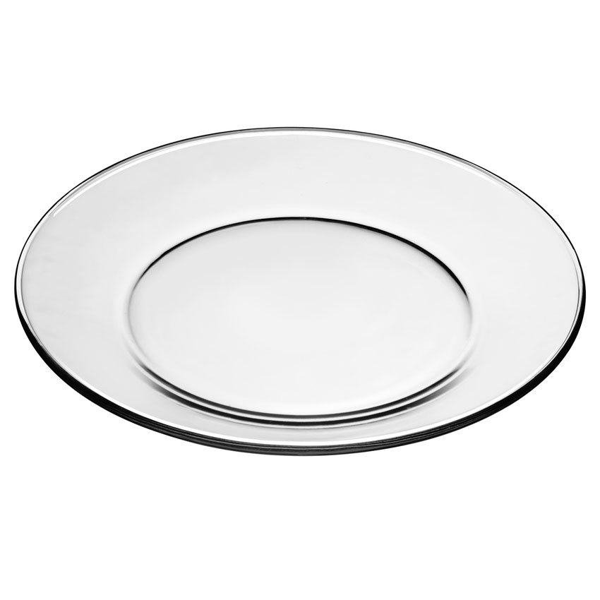 "Libbey 1788489 10.5"" Crisa Moderno Tempered Dinner Plate"