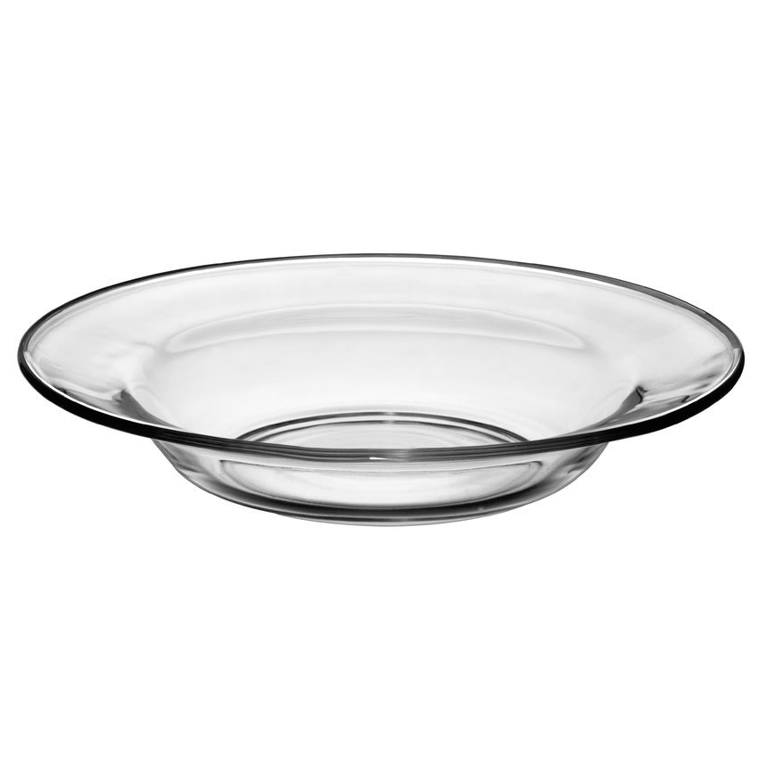 "Libbey 1788490 9"" Crisa Moderno Tempered Soup Salad Plate"