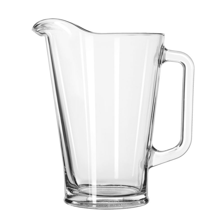 Libbey 1792421 37-oz Glass Beer Pitcher