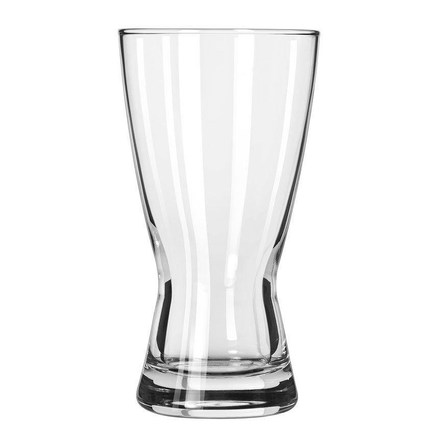 Libbey 181 12-oz Hourglass Design Pilsner Glass - Safedge Rim Guarantee