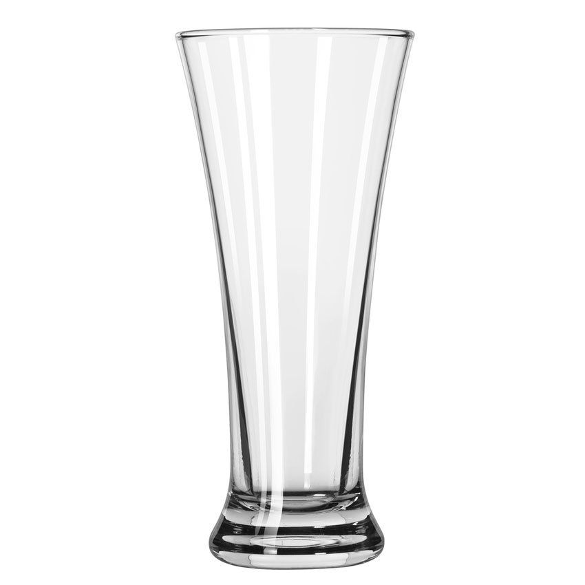 Libbey 18 11-oz Flared Pilsner Glass - Safedge Rim Guarantee