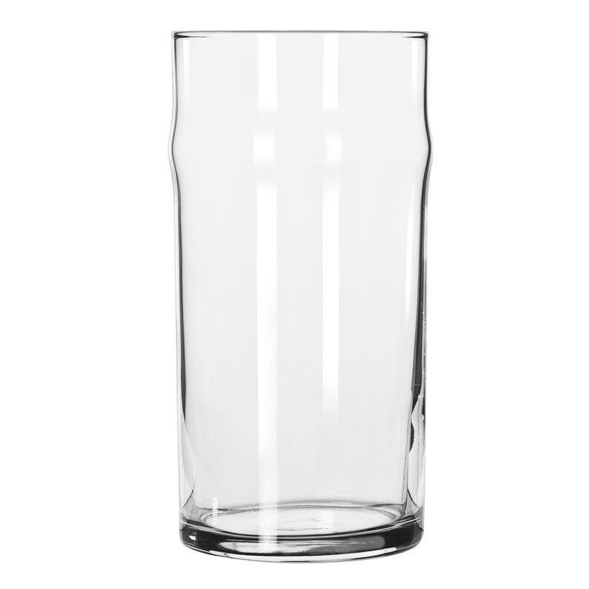 Libbey 1906HT 12-oz NO-NIK Beer Glass - Safedge Rim Guarantee