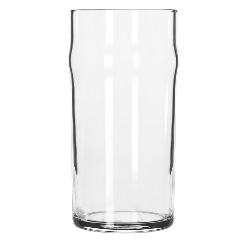 Libbey 1907HT 12.75-oz NO-NIK Beer Glass - Safedge Rim Guarantee