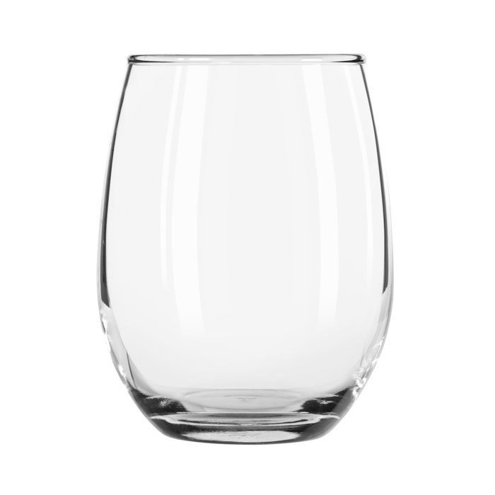 Libbey 207 9-oz Stemless Wine Glass
