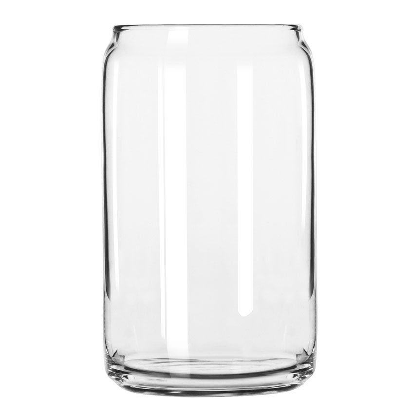 Libbey 209 16-oz Beer Can Glass - Safedge Rim