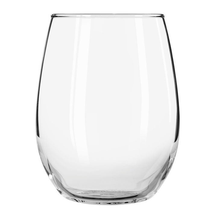 Libbey 213 15-oz Stemless Wine Glass