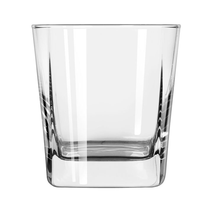 Libbey 2205 12-oz Quartet Square Base Rocks Glass