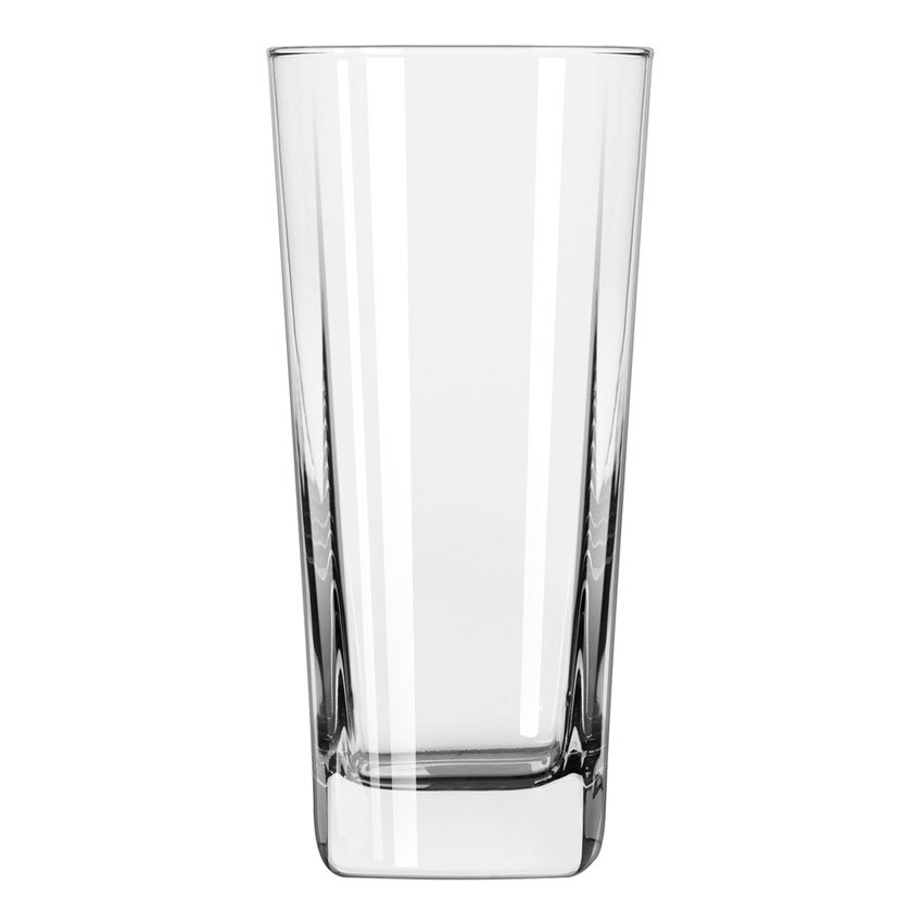 Libbey 2206 16-oz Quartet Square Base Cooler Glass