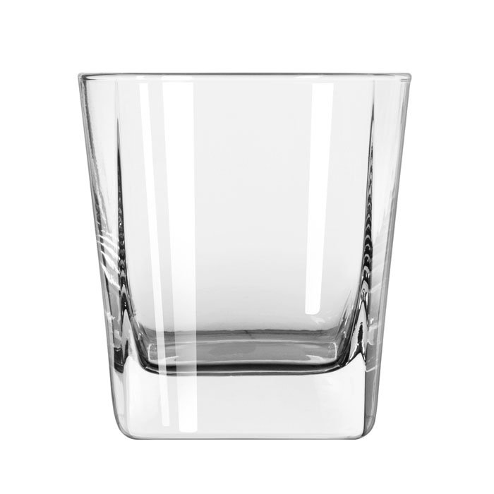 Libbey 2207 9.25-oz Quartet Square Base Double Old Fashioned Glass